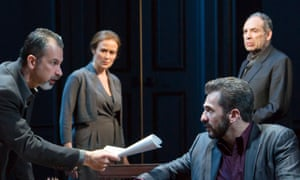'I stalked these characters' … Oslo on Broadway, now bound for Britain.