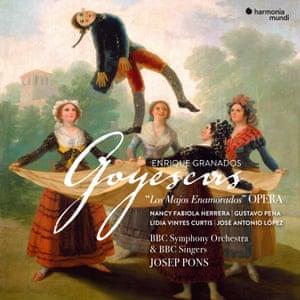 Granados: Goyescas album artwork.