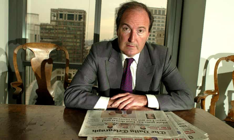 Charles Moore, editor of the Daily Telegraph, in 2003.