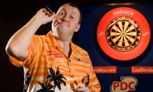 'Nah mate, I'm just high on darts.'