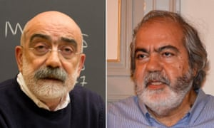 Ahmet Altan and his brother Mehmet Altan.