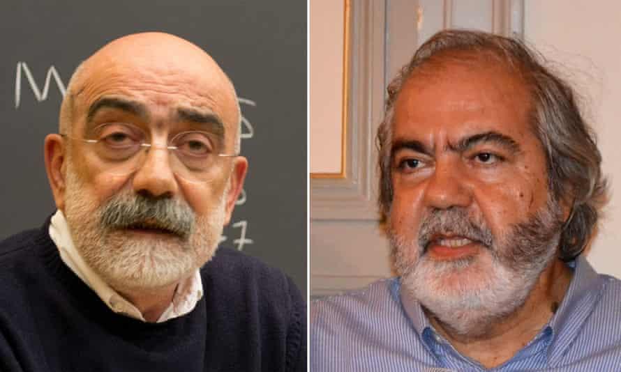 Ahmet Altan and his brother Mehmet Altan.