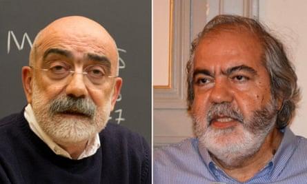 Ahmet Altan, left, and his brother Mehmet Altan
