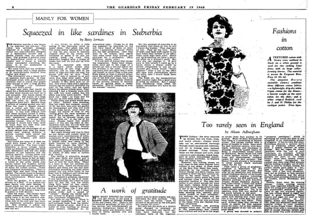 Betty Jarman's 1960 article, which led to the founding of the NWR.