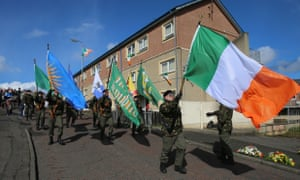 1916 Easter Rising commemoration in Derry