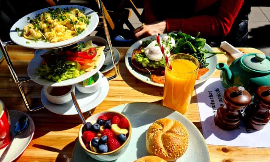 Austrian breakfast at Monalicious