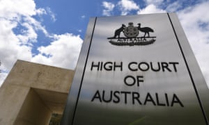 The High Court of Australia in Canberra