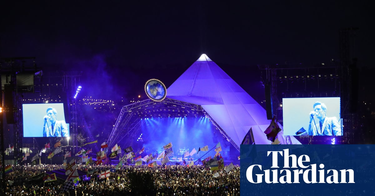 Glastonbury: drug traces from on-site urination could harm rare eels