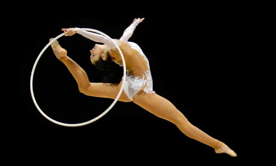 RG Anna BESSONOVA UKR Olympic and World Champion of Rhythm Gymnastics