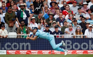 Woakes takes the catch to dismiss Imam for 44.