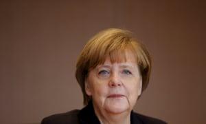 German Chancellor Merkel.