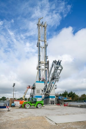The UK's first geothermal power plant site
