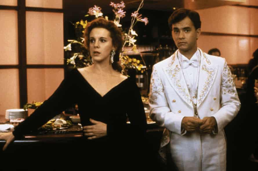 Elizabeth Perkins opposite Tom Hanks in Big