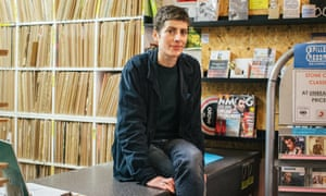 Ashli Todd owner and manager of Spillers Records, Cardiff.