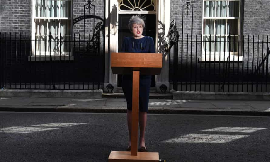 Theresa May announcing a general election, April 2017