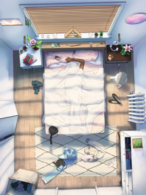 A forthcoming iphone game Selfcare focuses on relaxing at home