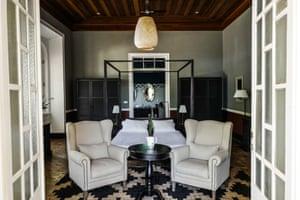 A bedroom at Roça Sundy, Principe