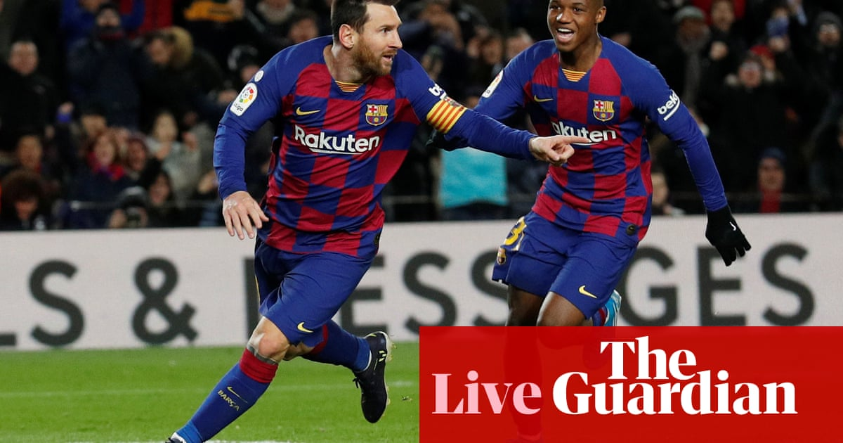 Barcelona 1-0 Granada: La Liga –live!