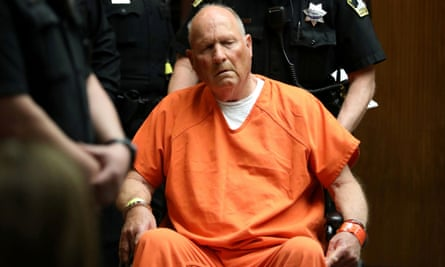 Joseph James DeAngelo, 72, who authorities said was identified by DNA evidence as the serial predator dubbed the Golden State Killer