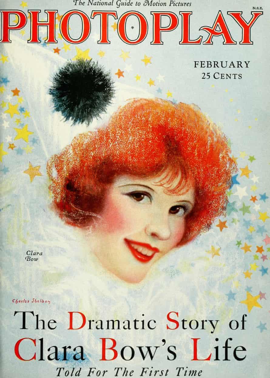 Painful … Photoplay magazine February 1928 – Clara Bow.