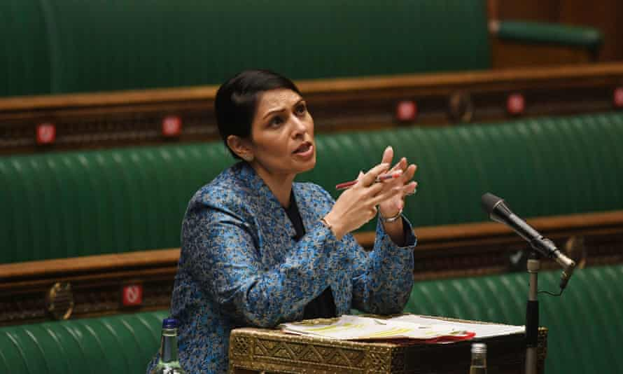 The home secretary, Priti Patel, is set to announce the 'biggest overhaul of the UK's asylum system in decades'.