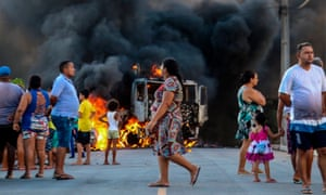 Violence has been most intense in the capital, Fortaleza, a metropolitan region home to 4 million people.
