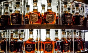 Jack Daniel's whiskey is seen as a party drink.