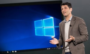 Terry Myerson speaks about the new Microsoft Windows 10 S operating system.