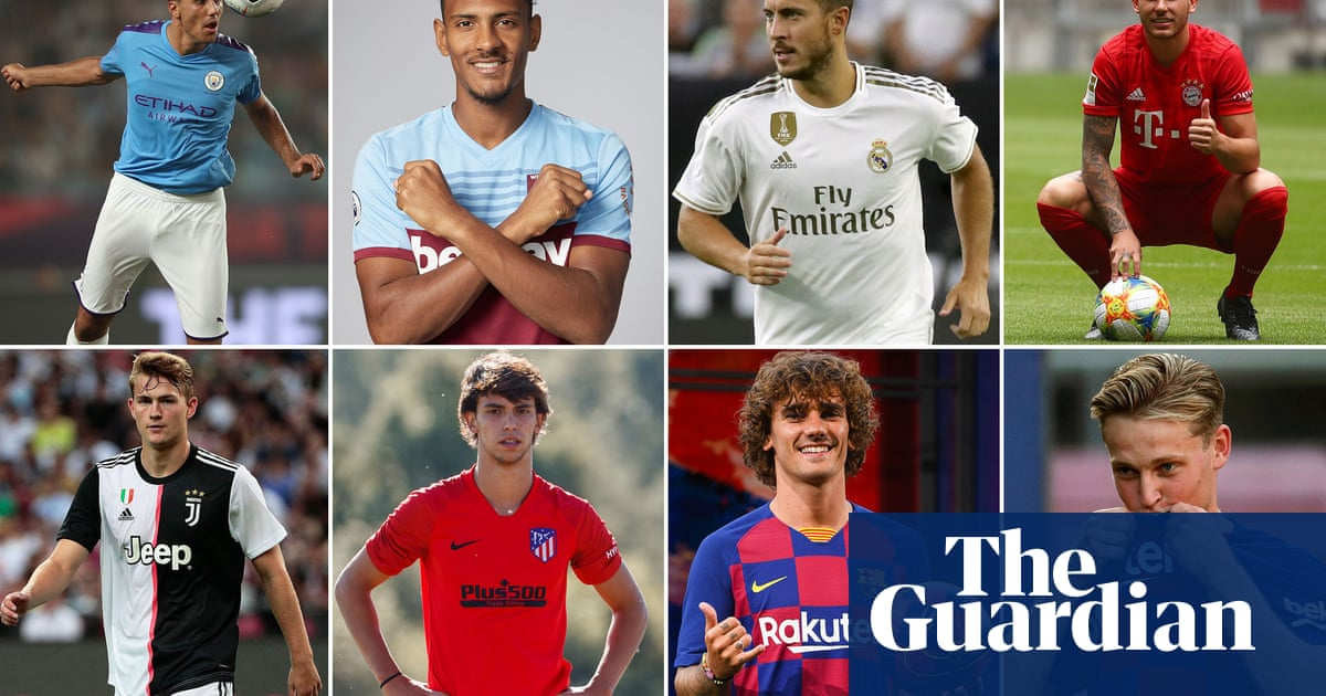 Transfer window 2019 – every summer deal from Europes top five leagues