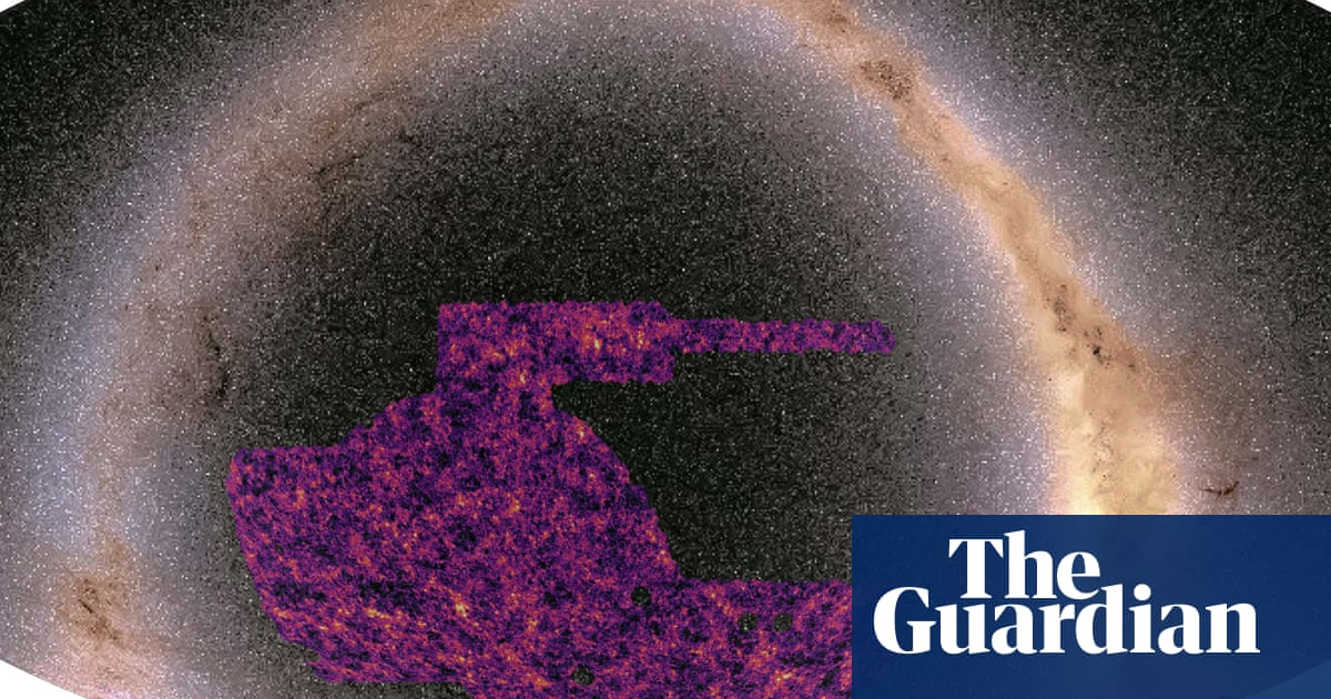 Astronomers create largest map of the universe's dark matter