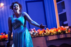 Giselle Allen sang a fabulous Salome for Northern Ireland Opera.