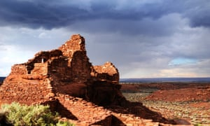 Storms over Wupatki Pueblo