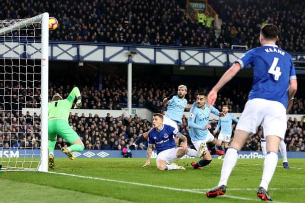 Everton 0-2 Manchester City: Premier League – as it happened