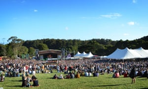 Australia: Falls Music and Arts Festival at Lorne, Victoria over December and January 2015-2016