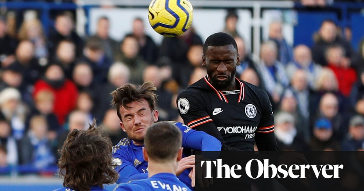 Chelsea's Antonio Rüdiger scores twice to earn draw with Leicester