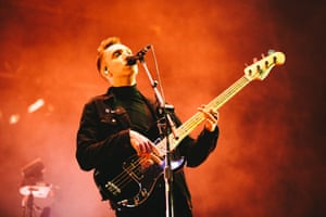Bassist and vocalist Oliver Sim from the XX.