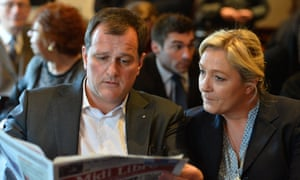 Marine le Pen with Louis Aliot