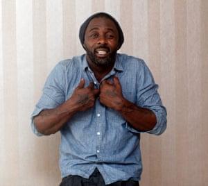 Idris Elba photographed by Thapelo Motsumi