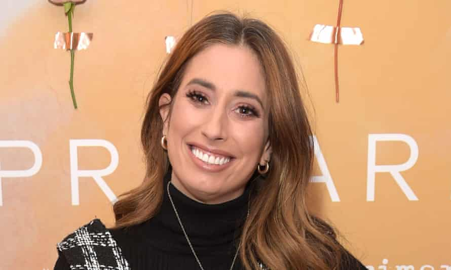 'A Sunday to yourself? I'd sleep until 11am and then scoff everything in the fridge in my pyjamas': Stacey Solomon.