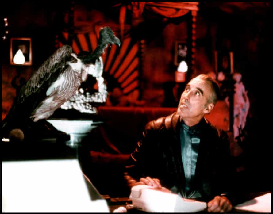 Christopher Lee as Mr Midnight in The Return of Captain Invincible.