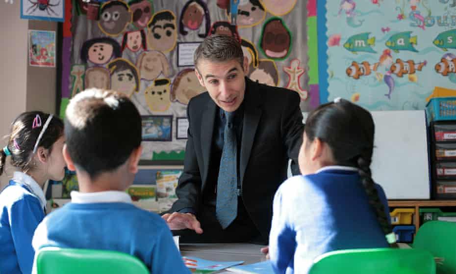 Ian Bennett, headteacher Downshall primary school in Ilford, Essex.