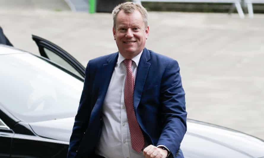 David Frost, Britain's chief Brexit negotiator