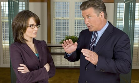 The underdog comes good ... Alec Baldwin and Tina Fey in 30 Rock.