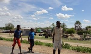 Children in Letlhakane