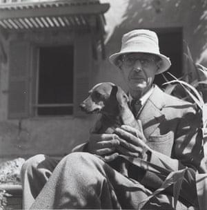 Pierre Bonnard and dog.