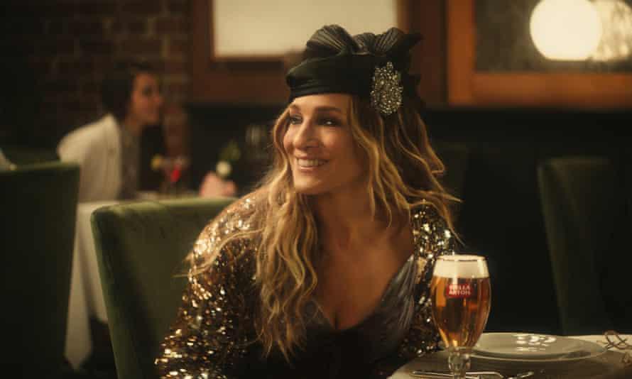 Sarah Jessica Parker in Stella Artois' Super Bowl ad