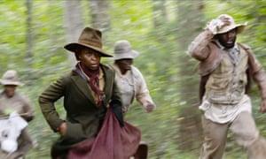 Cynthia Erivo as Harriet Tubman.