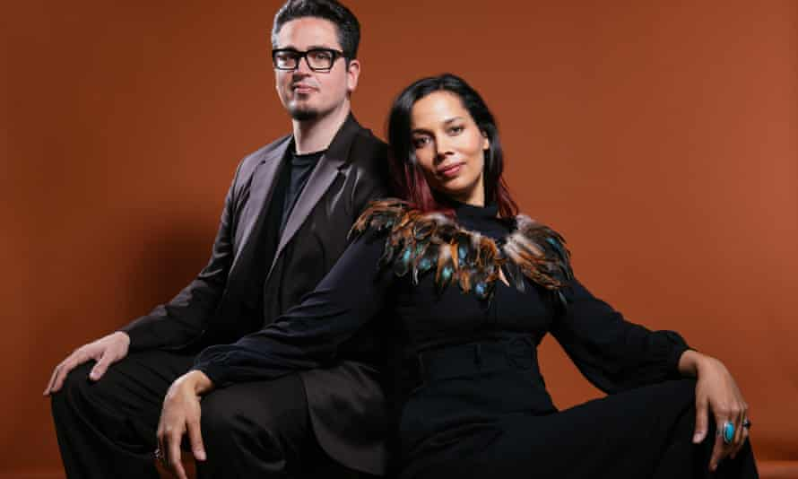 Astonishing levels of beauty and control ... Francesco Turrisi and Rhiannon Giddens.