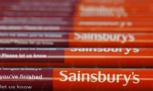 Sainsbury's supermarket at Pulborough, southern England