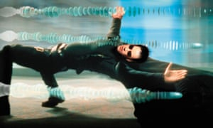 On the pill ... Keanu Reeves in The Matrix.